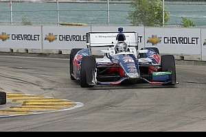 IndyCar Practice report Marco Andretti leads Chevy assault on Iowa Indy Car event