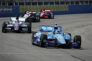 IndyCar Qualifying report Dario Franchitti takes Iowa pole after final heat victory