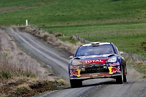 WRC Leg report Loeb maintains Rally New Zealand lead over Hirvonen