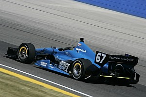 IndyCar Race report Sarah Fisher Hartman Racing sees Iowa car go from bad to good to broken
