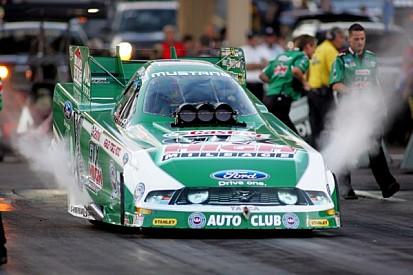 John Force leads Joliet quals with Schumacher, Johnson and Arana