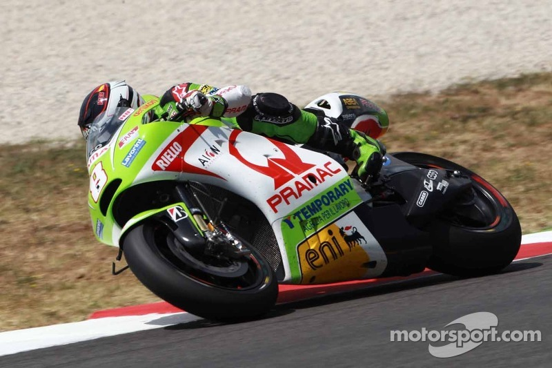 Pramac Racing Team rider Barberà rode hard to take the 9th in Mugello
