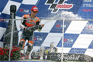 MotoGP Race report Podium for Pedrosa, difficult 8th for Stoner