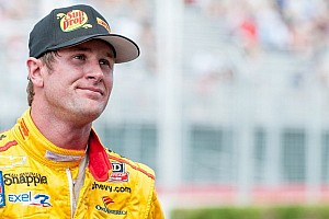 IndyCar Breaking news Hunter-Reay penalized for unsportsmanlike conduct in Edmonton practice