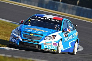 WTCC Qualifying report Five Chevrolet Cruzes in top six at Curitiba qualifying