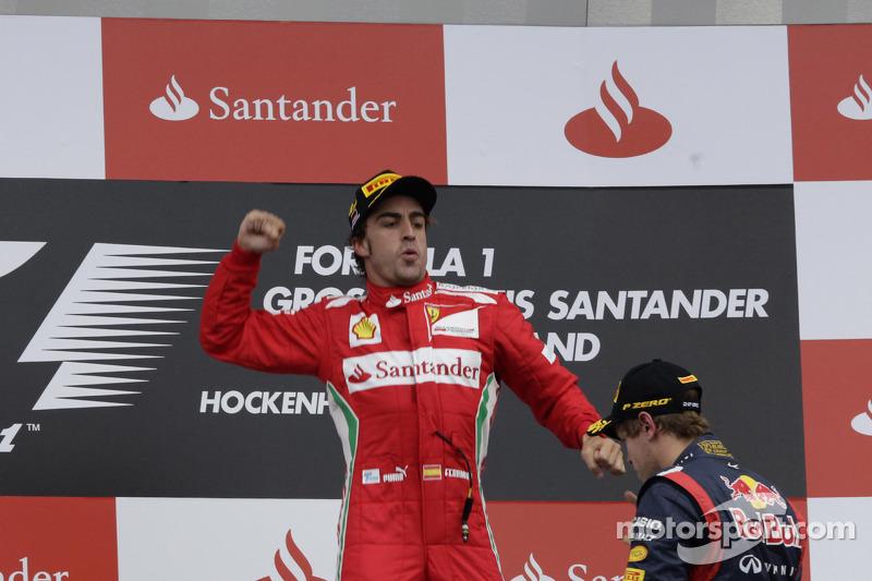 World champions admire 2012 favourite Alonso