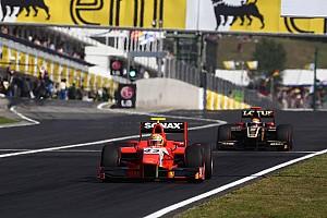 GP2 Race report Bright start helps Razia to Budapest Feature Race podium