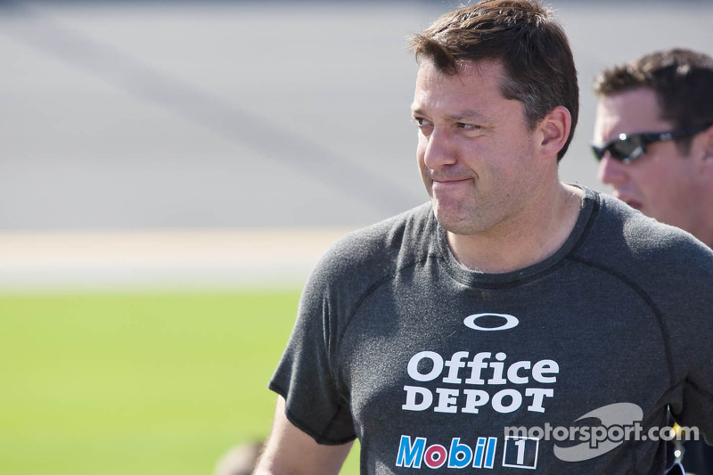 Tony Stewart proud of team's top-10 Indianapolis finish