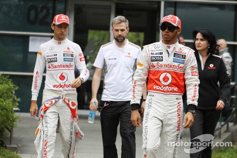 Button not ready to help Hamilton