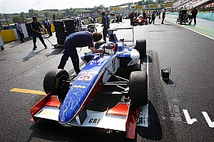 GP3 Race report Trident team drivers leave Budapest disappointed
