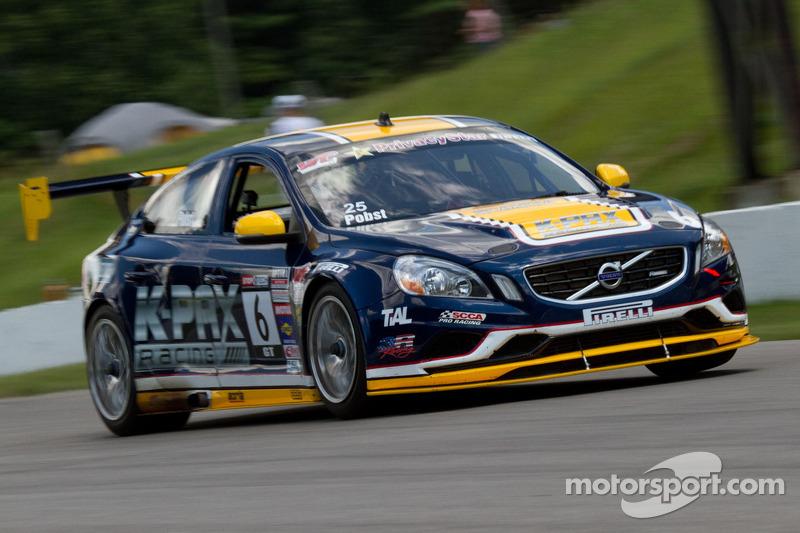 Pobst Tops Practice Charts at Cadillac Mid-Ohio Grand Prix; Esayian, Herbert Lead Classes