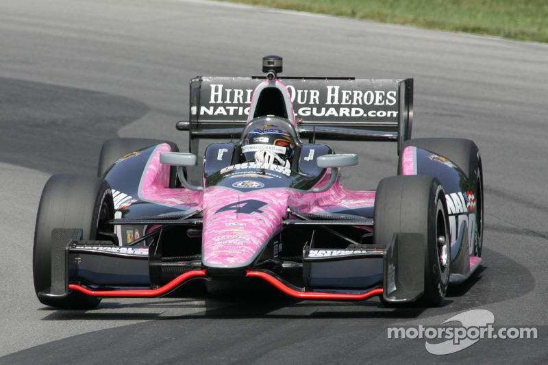 Hildebrand narrowly misses advancing in Mid-Ohio qualifying