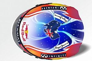 Formula 1 Special feature Mark Webber's special Singapore helmet design