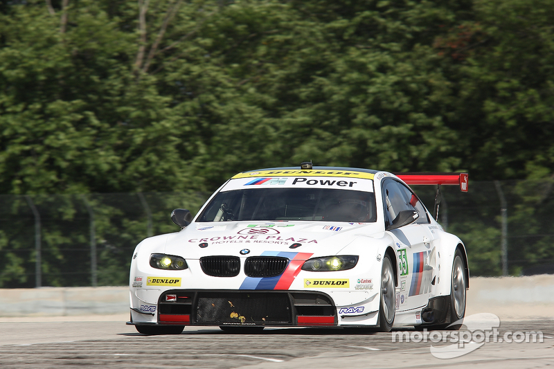 BMW Team RLL gain speed in Road America qualifying