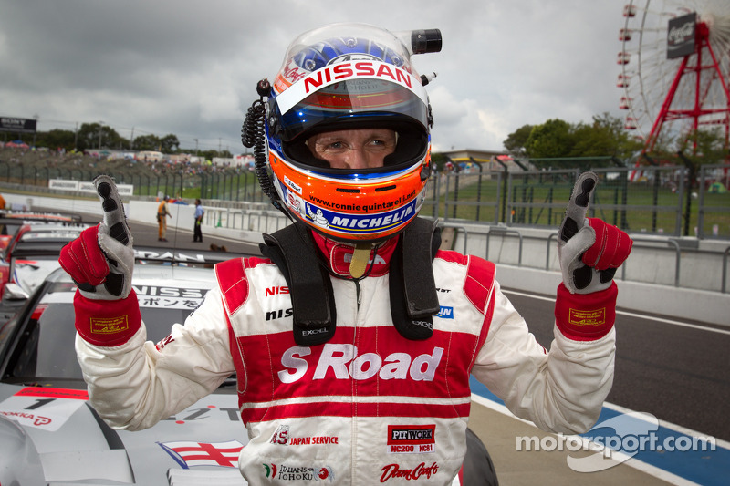 S Road REITO MOLA GT-R takes its first pole position of the season at Suzuka