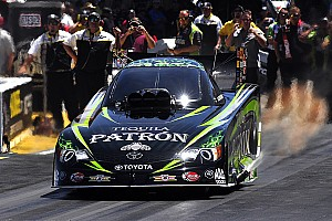 NHRA Qualifying report Successful qualifying weekend for Team Patrόn in Brainerd