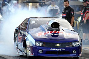 NHRA Race report After a quarterfinal finish in Brainerd, Line's top priority is testing