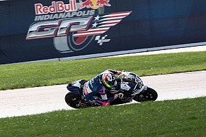 MotoGP Race report Fixed fortunes for Aspar duo in Indianapolis