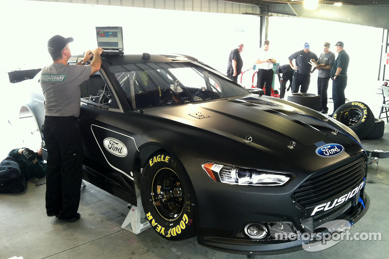 Martinsville Speedway test session first on-track look of  2013 Fusion stock car
