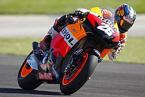 MotoGP Practice report Pedrosa sets early pace in Brno Free Practice
