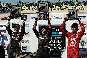 IndyCar Race report Briscoe hands Chevrolet title with Sonoma win