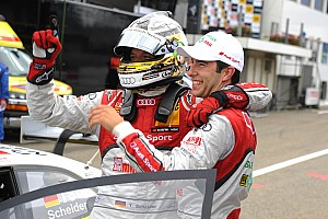 DTM Qualifying report Audi takes top five grid positions for DTM race at Zandvoort