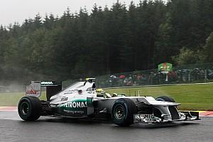 Formula 1 Rumor Mercedes runs 'triple DRS' at Spa - report