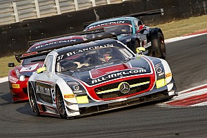 Blancpain Sprint Race report Pastorelli finished in a disappointing 8th position on Moscow wet race