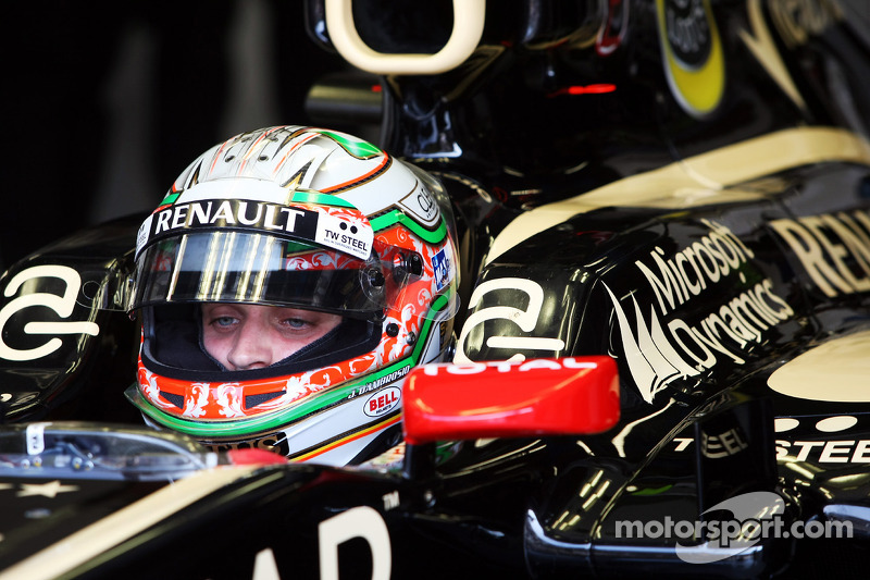 An okay day for Lotus without Grosjean at Monza
