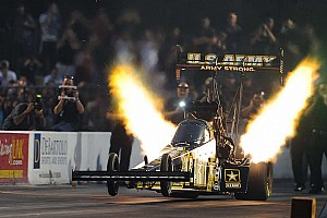 NHRA Race report Schumacher made history in the most prestigious NHRA drag race at Indy