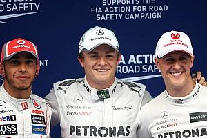 Formula 1 Rumor Mercedes offering Schumacher 2013 contract - report
