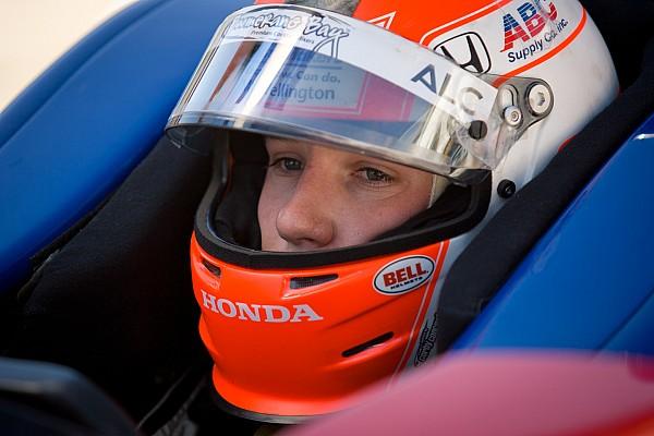 Cunningham qualifies the AJ Foyt Racing Honda at Fontana