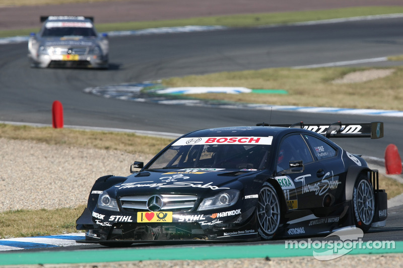 Second place finish at Oschersleben sees Paffet maintain DTM Championship lead