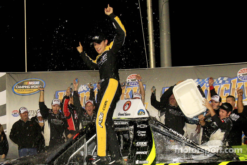 Buescher wins again at Kentucky, fourth season win for Turner Chevrolet team
