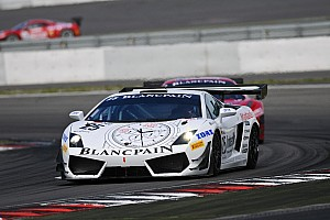 Blancpain Sprint Race report Podium places for Reiter Engineering at the Nürburgring