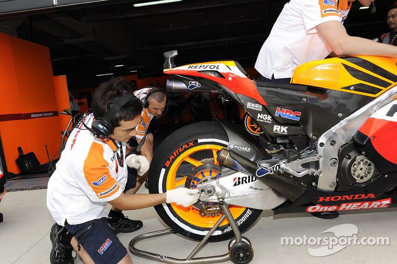 Motorland Aragon presents a significant challenge for Bridgestone