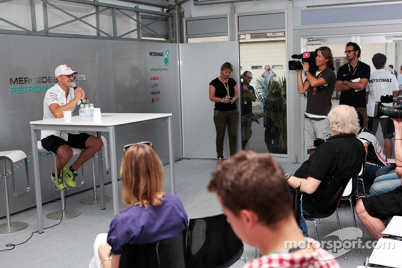 Schu told Merc of F1 exit five minutes before call