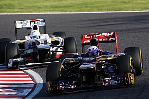 Formula 1 Race report Eventful race for Toro Rosso at Suzuka circuit