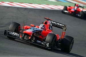 Formula 1 Qualifying report Marussia drivers will start Korean GP side by side