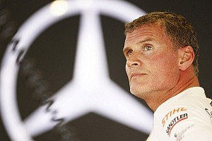 DTM Breaking news David Coulthard to bow out at season finale in Hockenheim