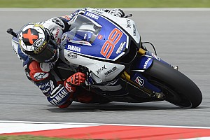 MotoGP Practice report Mixed weather provides frustrating start for Yamaha in Sepang