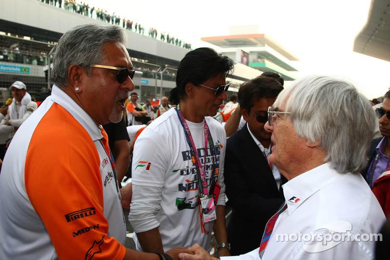 Good and bad news for F1's Vijay Mallya