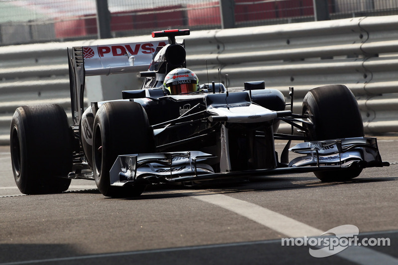 A couple of very productive sessions for Williams at Buddh Circuit