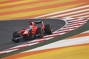 Formula 1 Practice report A regular Friday practice for Marussia in India