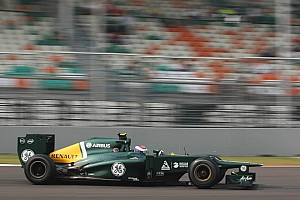 Formula 1 Race report Caterham drivers quotes about Sunday at Buddh International Circuit
