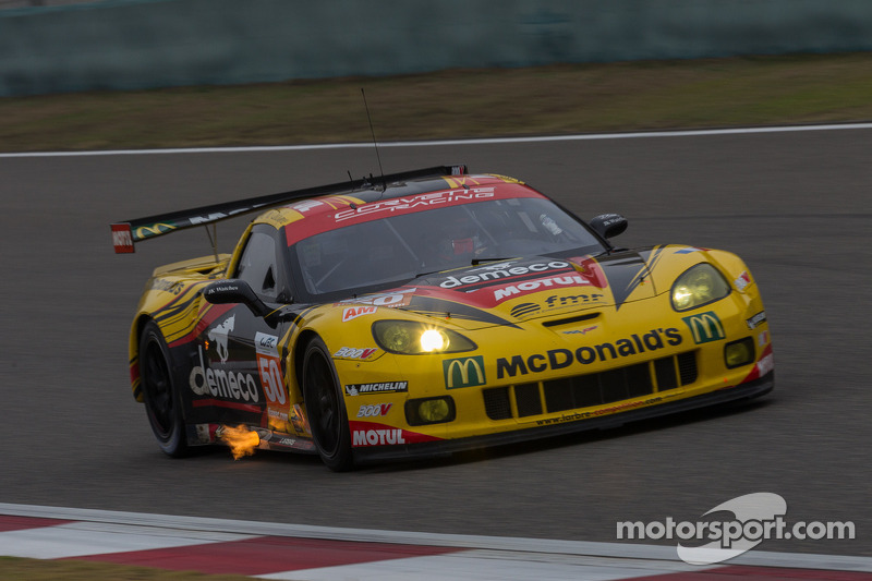 Shanghai victory sees Larbre Competition crowned GTE Am world champions