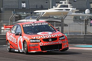 Supercars Qualifying report Whincup secures front row start for Abu Dhabi sprint races