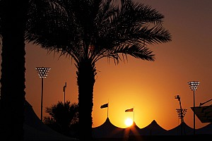 Formula 1 Breaking news A sunset to wet anyone's appetite at Yas Marina Circuit