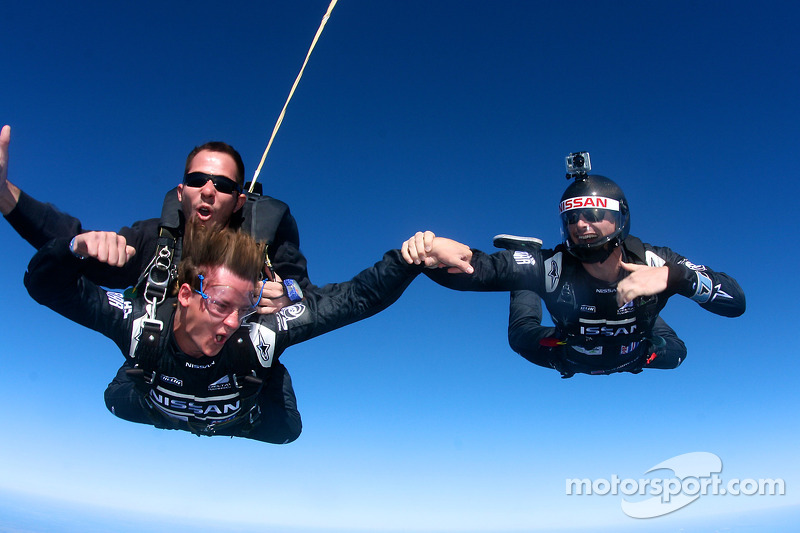 Nissan DeltaWing  drivers Ordoñez and Jeannette's leap of faith