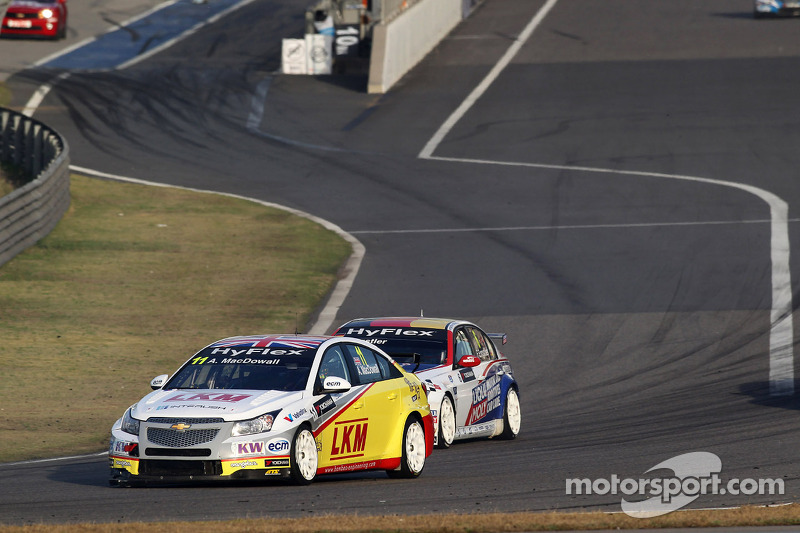 Incident-packed costs MacDowall potential podiums at Shanghai